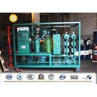 China 4000L / H 2 Stage High Vacuum Oil Purifier For Transformer Oil Purification / Filtration on sale
