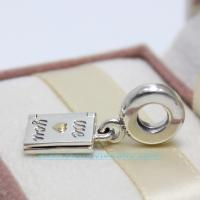 China Happy Mothers Day Dangle Charm 925 Sterling Silver Jewelry on sale