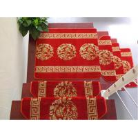 Buy cheap Chinese Style Red Carpet Runner Tufted Stairs Rugs From China Carpets Factory product