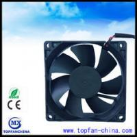Buy cheap High Temperature Exhaust 12 Volt Axial Fan For Computer Cases , 80mm X 80mm X 25mm / Computer Mainframe product