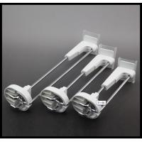 Buy cheap COMER Metal chrome slatwall display hooks in Supermarket for mobile phone accessories stores product