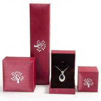 Buy cheap Creative Design Jewelry Plastic Box Mechanical Production For Pendant / Necklace product