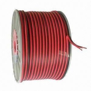 China Los colores del cable de altavoz, rojos y negros están disponibles wholesale