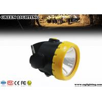 1W 4000 Lux LED Mining Light With 2.2Ah Li-Ion Battery Water Proof IP68