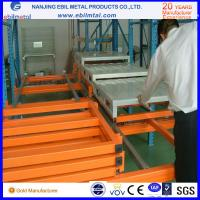 Buy cheap Chinese Big Brand Steel Push Back Rack / Pallet Rack for Warehouse Storage product