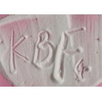 Buy cheap Water Insoluble Potassium Tetrafluoroborate Kbf4 Particle Size 100 - 200 Mesh product