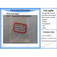 Buy cheap Selective PCT Anti Estrogen Raw Powder Tamoxifen Citrate / Nolvadex  54965-24-1 product