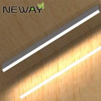 Quality 36W 60W Linear LED surface-mount ceiling fixtures Surface-Mounted Linear Suspended LED Luminaire Office Lighting for sale