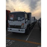Buy cheap Single Cabin Sinotruk 3T 4x2 Light Dump Truck With Cargo Box White Color product