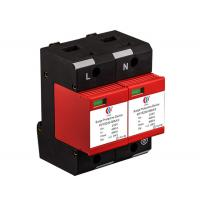Buy cheap Lightning Arrestor Power Surge Protection Device 220V 80KA With Temp Control Breaker product