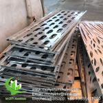 Buy cheap metal aluminum cladding sheet metal facade cladding bending sheet for curtain wall facade privacy screen decoration product