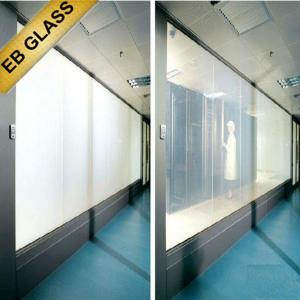 Buy cheap Privacy PDLC smart film, smart privacy film, switchable pdlc film, smart glass, EB GLASS product
