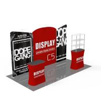 Buy cheap Light Weight Trade Show Poster Display Popular 10ft*10ft Convenient Operation product