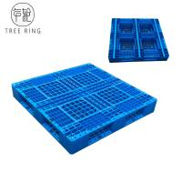 Buy cheap Full Perimeter Runner HDPE Plastic Pallets , Recycled Plastic Pallets For Stacking Option product