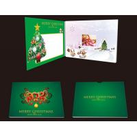 China Rechargeable Lcd Video Brochure Invitation Video Card For Advertising on sale
