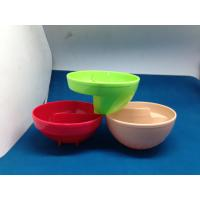 Buy cheap Plastic Kids Melamine Salad Bowl With SGS FDA Houseware Acid Resistance from wholesalers