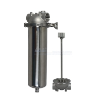 Buy cheap 5 10 Micron SUS304 40 Inch Single Cartridge Filter Housing product