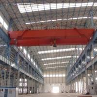 Buy cheap 10 Ton 20 Ton Electric Overhead Crane Double Beam CE High Reliability product