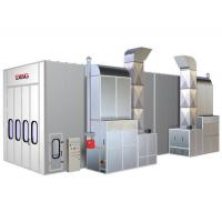 China Infrared Downdraft Car Spray Paint Booth With 2 Units Personal Door on sale