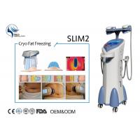 China Four Handles Work Together Coolsculpting Cryolipolysis Machine For Cellulite Removal on sale