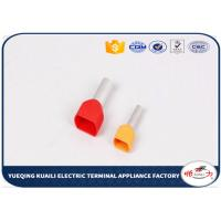 Buy cheap Red , Yellow , Blue Wire Connectors Terminals Copper With Tin Plated product