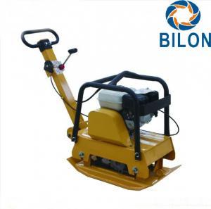 China Road Vibratory Plate Compactor 5.5HP Gasoline Engine Vibrator Machine on sale