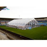 Buy cheap 20m - 60m Clear Span Curved Marquee Hangar Tent For Outdoor International Competition from wholesalers