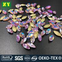 Buy cheap Large Sewable Rhinestones , Colorful Sew On Beads And Crystals Various Size from wholesalers