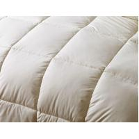 Buy cheap Customized Grid Embossing Down Feather Quilt With Double Stitched Piping Edges product