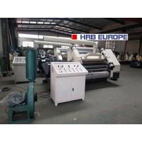 Buy cheap WJ-100-1800 Two Ply Corrugated Cardboard Production Line / Making Machine product