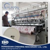 Buy cheap 3.5kw Automatic Quilting Machine , Sewing And Quilting Machine 12 Inch Stroke product