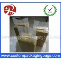 Buy cheap Heat Vacuum Seal Bags For Rice , Three Side Transparent storage bags product