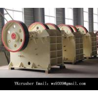 High Hardness Mining Rock Crusher / Double Toggle Jaw Crusher Easy Operated