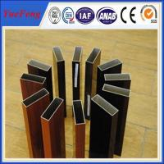 Buy cheap Aluminium profile wood color , OEM design 6063 grade aluminium triangle tube allibaba com product