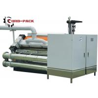 Buy cheap Heating Exchange Single Facer For Corrugated Cardboard Production Line product