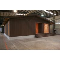 Buy cheap LVL Material Brown WPC House , Durable Weather Resistant Wood Cladding House product