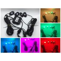 China RGB IP68 9W 4pod Rock Lights for offroad ATV UTV SUV 4x4,color changing wholesale
