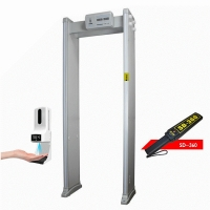 Buy cheap Digital Portable Walk Through Door Frame Metal Detectors product