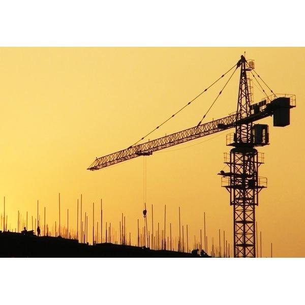 Tower Crane Climbing : Outernal climbing tower crane qtz tc of maycrane