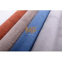 Buy cheap DTY / FDY Microfiber Soft Velvet Warp Knitting Fabric For Luxury Home Furniture product