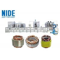 Buy cheap full aotumatic coil winding mahcine stator production line for  three phase washing machine product