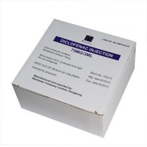 Buy cheap Diclofenac Sodium Injection Small Volume Parenteral 75mg/3ml analgesic anti-inflammatory from wholesalers