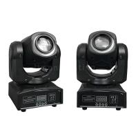 Buy cheap 2019 Hot Sale DMX 30W White RGB 3-in-1 Full Color Mini LED Small Moving Head Spot Wash Stage Lights product