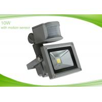 China Super Bright Outdoor 10W LED Security Light with PIR Montion Sensor for Lawns , Square on sale