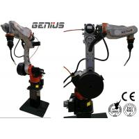 China CNC Mig Welding Robot High Accuracy Anti Rust Laser Seam Track System on sale