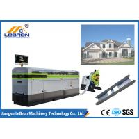 Buy cheap 5000mm Length Light Gauge Steel Framing Machines 300-700m/h Production Capacity from wholesalers