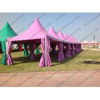 Buy cheap Colorful Multi - Side PVC Pagoda Tent Aluminium Alloy Frame For Event / Party from wholesalers