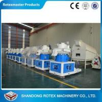 Buy cheap Vertical ring die wood pellet press machine 1-1.5T/Hour YGKJ560 with Automatic lubrication product