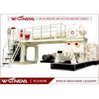 Buy cheap Red Sintered Clay Brick Making Machine Vacuum Extruder All Steel Material product