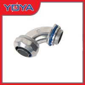Muere el cinc del molde las colocaciones flexibles del conducto de 90 grados con el anillo azul/del amarillo de cierre